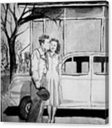Sweet Memory Canvas Print