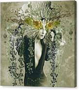 Sweet Webs Of Design Canvas Print