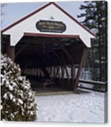 Swift River Bridge Conway New Hampshire Canvas Print
