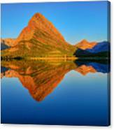Swiftcurrent Morning Reflections Canvas Print