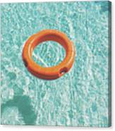 Swimming Pool III Canvas Print
