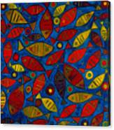 Swimming With The Fishes Canvas Print