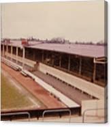 Swindon - County Ground - Main Stand 1 - 1970 Canvas Print