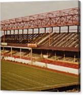 Swindon - County Ground - Main Stand 2 - 1970s Canvas Print