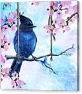 Swing Into Spring Canvas Print