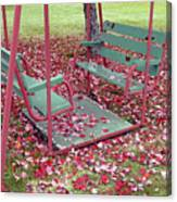 Swing Set Canvas Print