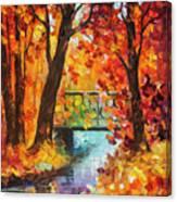 Swinging Time Canvas Print