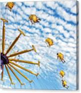 Swings On High Canvas Print