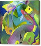 Swirling Fish Canvas Print