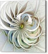 Swirling Petals Canvas Print