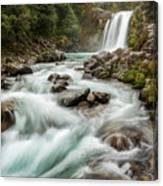 Swirling Waters - Tawhai Falls Canvas Print
