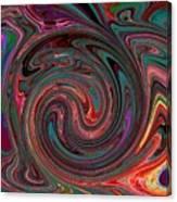 Swirlpool Canvas Print