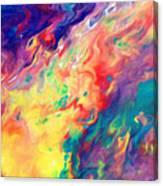 Swirls Of Paint IIi Canvas Print