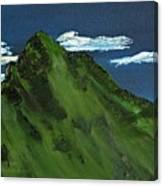 Swiss Alp Canvas Print