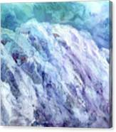 Swiss Alps - My Interpretation Canvas Print