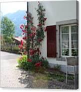 Swiss Cottage Canvas Print