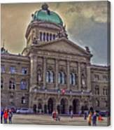 Swiss Federal Palace Canvas Print