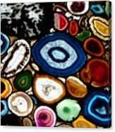 Swiss Geodes Canvas Print