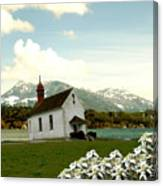 Swiss Spring Version 3 Canvas Print
