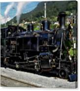 Swiss Steam Locomotive Canvas Print