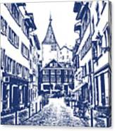 Swiss Street Canvas Print