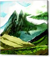 Switzerland Canvas Print