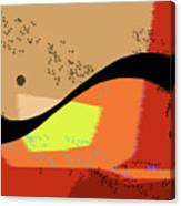 Swoosh, Abstract Canvas Print