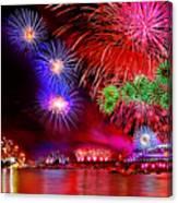 Sydney Celebrates Canvas Print