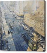 Sydney, George St. In 1930 Canvas Print
