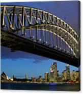 Sydney Harbor Bridge Canvas Print
