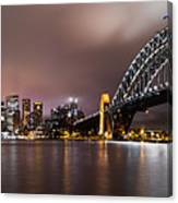 Sydney Harbor Canvas Print