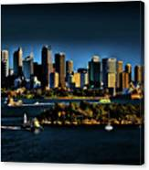 Sydney Harbour abstract Canvas Print
