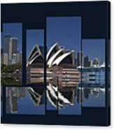 Sydney Harbour Collage Canvas Print