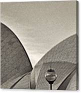 Sydney Opera House Roof Detail Canvas Print