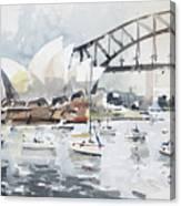 Sydney Opera  Canvas Print