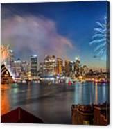 Sydney Sparkles Canvas Print