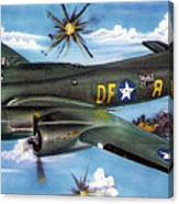 Syfy- Army Bomber Canvas Print