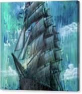 Syfy- Ship Canvas Print