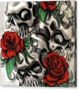 Syfy- Skulls Canvas Print