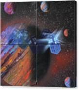 Syfy- Tardis Canvas Print
