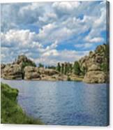 Sylvan Lake South Dakota Canvas Print