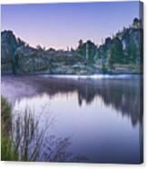 Sylvan Sunset Canvas Print