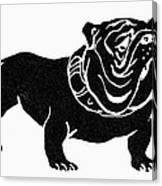 Symbol: Bulldog Canvas Print