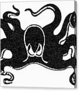 Symbol: Octopus Canvas Print