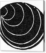 Symbol: Silence Canvas Print