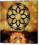 Symbols Of The Occult Canvas Print