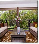 Symmetrical Balcony Canvas Print