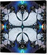 Symmetry In Circuitry Canvas Print