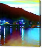 Symphony River Canvas Print