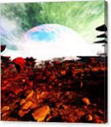 Syn's Moon Canvas Print